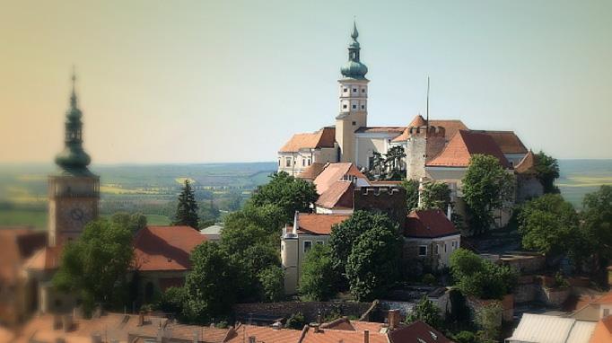 Mikulov a jeho histrociký střed - mikulovský zámek